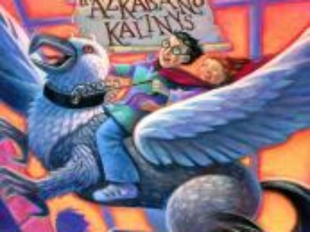 J.K. Rowling. Haris Poteris ir Azkabano kalinys.