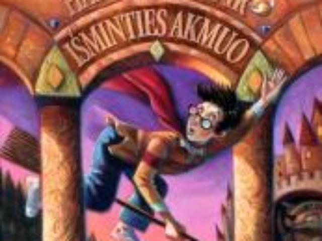 J.K. Rowling. Haris Poteris ir Išminties akmuo