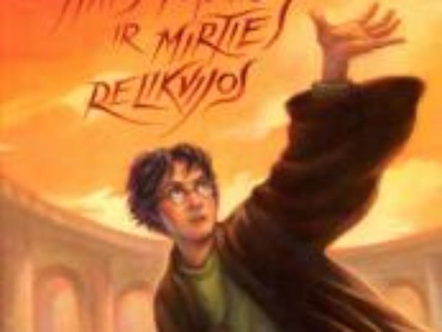 J.K. Rowling. Haris Poteris ir mirties relikvijos