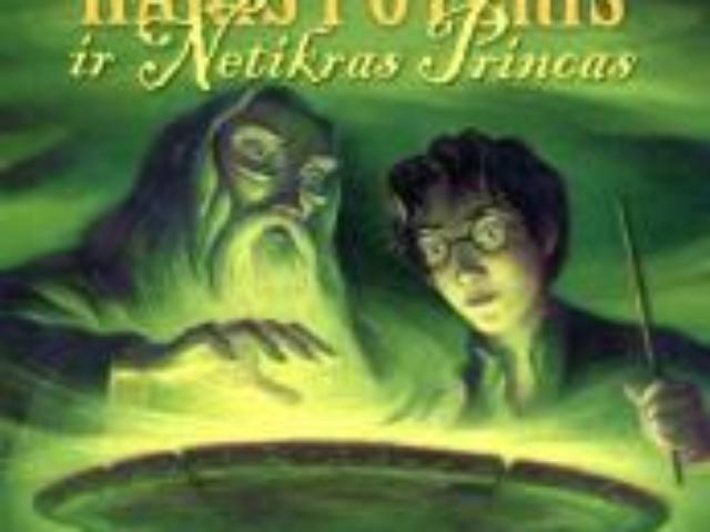 J.K. Rowling. Haris Poteris ir netikras princas